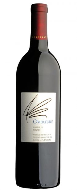 Californien, Napa Valley, Opus One Overture 2013