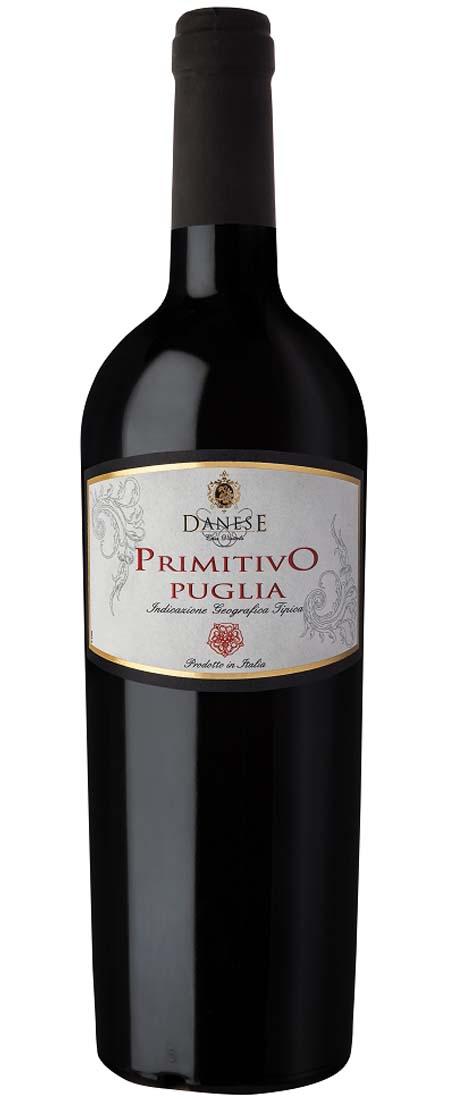 Primitivo IGT Puglia, Cantina Danese NV