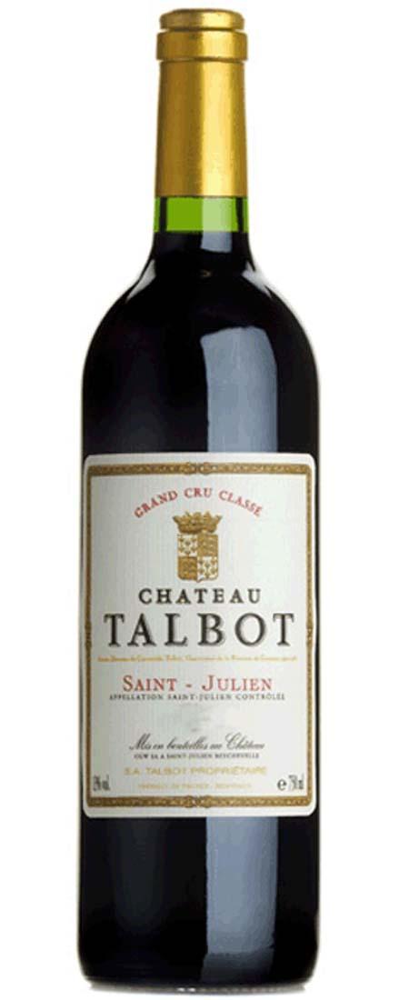 Saint-Julien, Château Talbot 2018 4. Cru