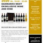 Duclot RE-Collection 2007 Wine and Dine på Dragsholm Slot d. 24 September 2020