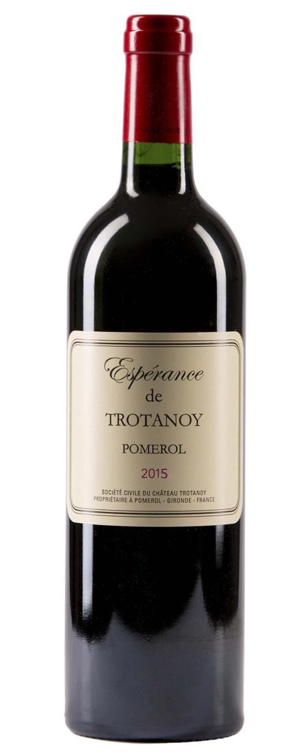 Pomerol, Esperance de Trotanoy 2015