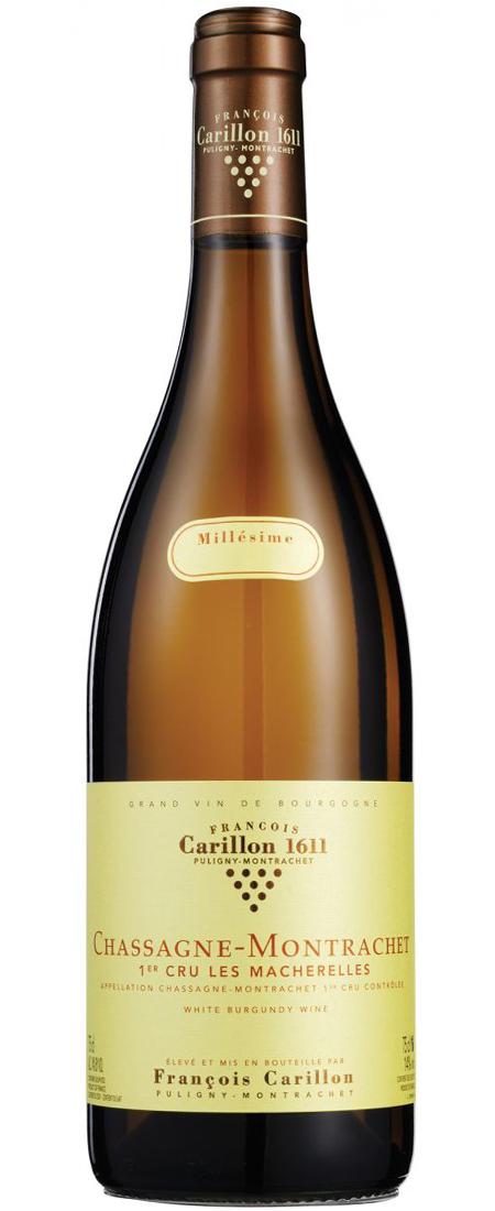 Bourgogne, Domaine Francois Carillon, Chassange-Montrachet 1. Cru Les Macherelles 2018